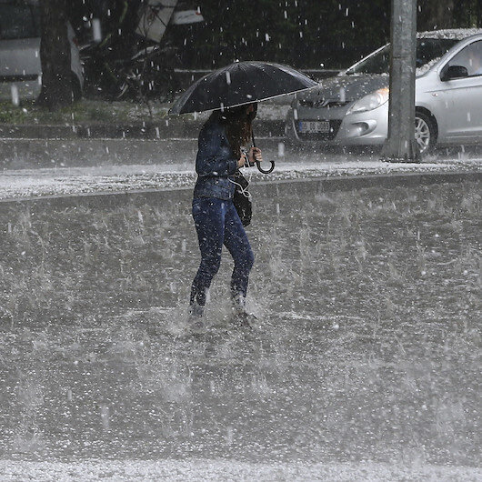 Meteorolojiden 12 ile yağış uyarısı