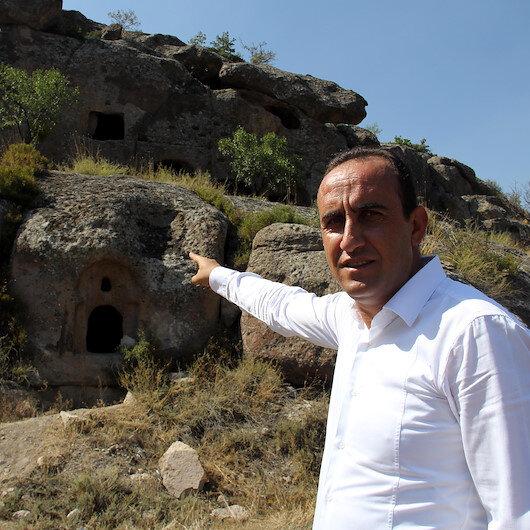 Kayseri'de tarihi keşif: Üzüm hasadı yaparken buldular