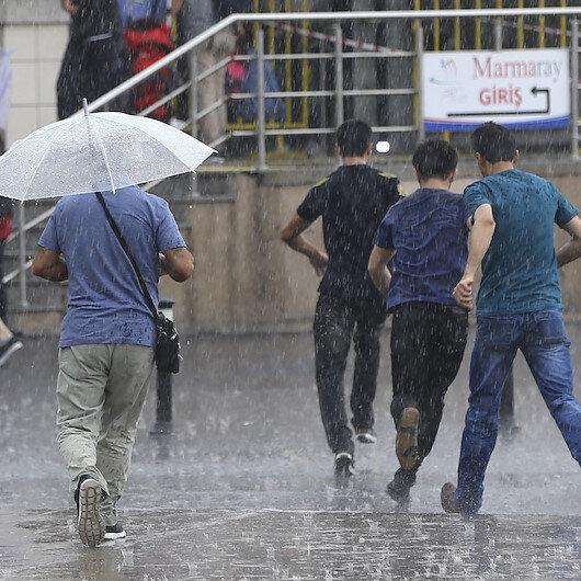Meteorolojiden İstanbul ve 13 ile yağış uyarısı