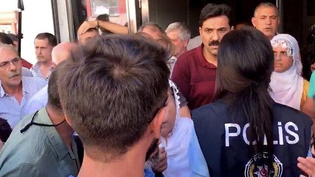 Vatan Partililere HDP'liler saldırdı.