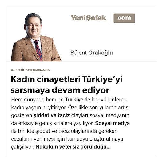 Kadın cinayetleri Türkiye'yi sarsmaya devam ediyor