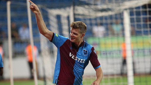 Trabzonspor'da yeni transferler arasında en fazla süreyi 506 dakika ile Norveçli golcü Alexander Sörloth aldı.