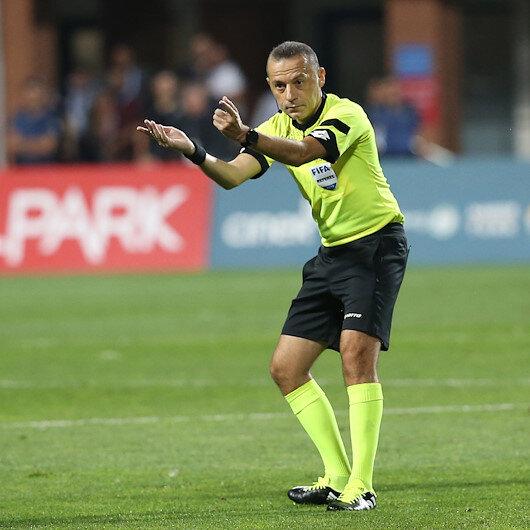 Football: Cüneyt Çakır to referee Serbia-Portugal match