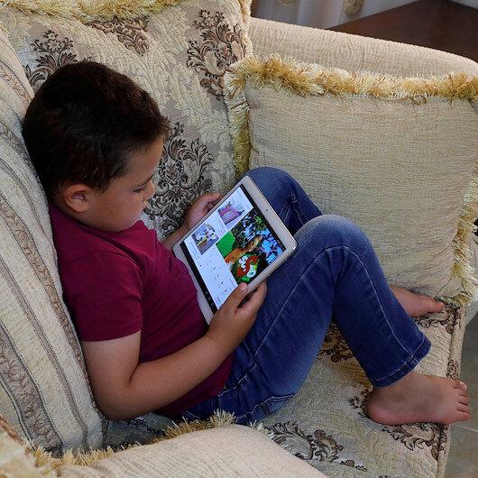 Children urged to avoid bright screens before sleeping