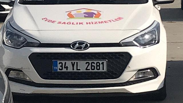 Yenikapı'ya çekilen hizmet araçları.