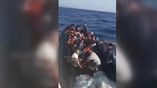 İzmirde 72 düzensiz göçmen yakalandı