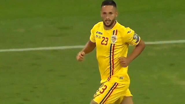 Galatasarayın yeni transferi oyuna girdikten 3 dakika sonra gol attı