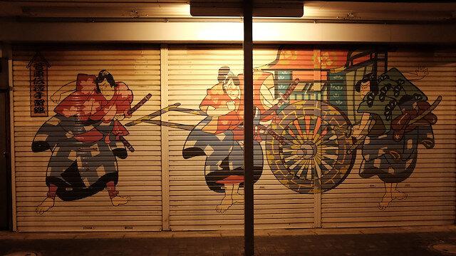 Japon kültürü kepenkler kapanınca ortaya çıkıyor