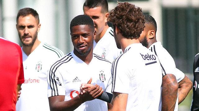 Diaby'nin Beşiktaş'taki ilk günü.