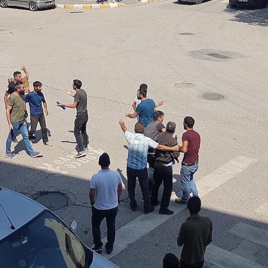 Tunceli'de iki şahsın kavgası sokakta gerginliğe neden oldu