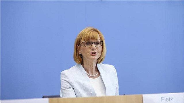 Almanya Hükümet Sözcüsü Martina Fietz