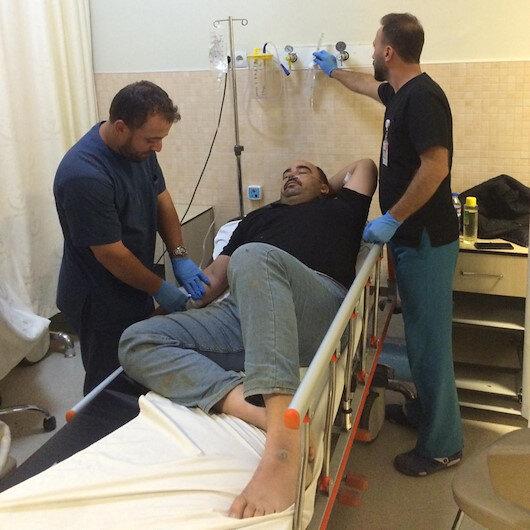 Arı saldırısına uğrayan 19 tarım işçisi hastanelik oldu