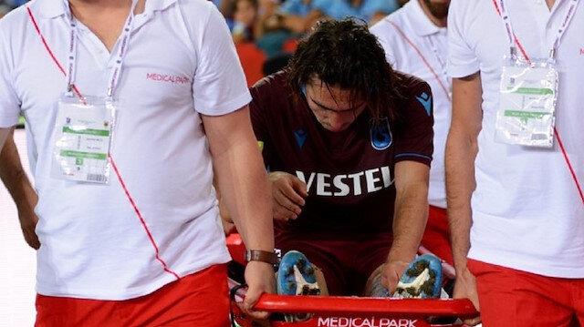 AEK maçında sakatlanan Abdülkadir, oyundan sedye ile çıkmıştı.