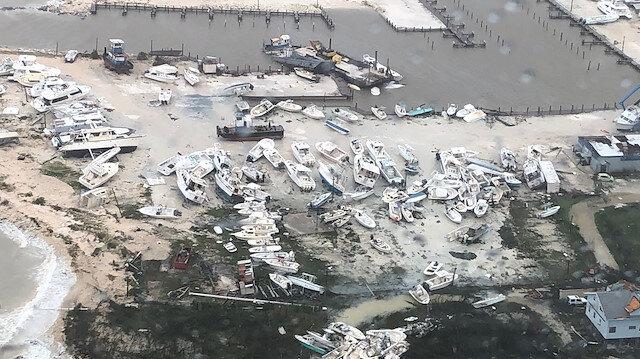 Dorian Kasırgası'nda ölenlerin sayısı 43'e yükseldi