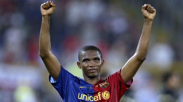 Samuel Eto'o futbolculuk kariyerine 25 kupa sığdırdı.