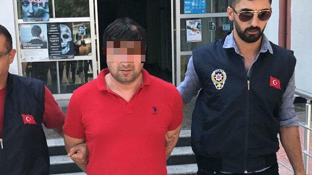 Şüpheli, polis ekiplerince gözaltına alındı.