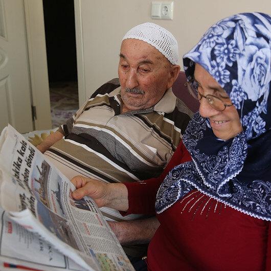 90 yaşında okuma yazma öğrendi