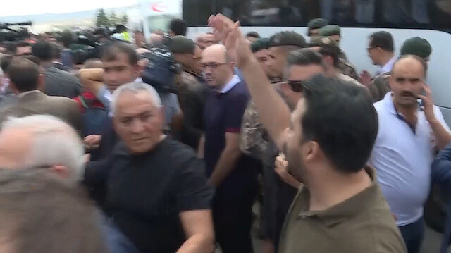 Şehit cenazesinde Kılıçdaroğluna tepki: Hangi yüzle buraya geliyorsun?