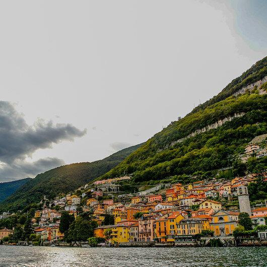 """بحيرة """"كومو"""" الإيطالية.. لوحات فنية طبيعية"""