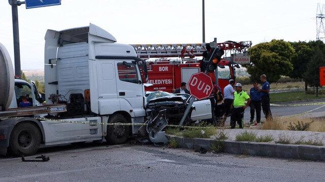 Hatay İl Emniyet Müdürü trafik kazası geçirdi