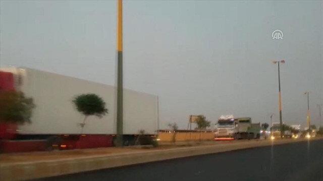33 شاحنة مساعدات أممية تتجه إلى إدلب السورية عبر تركيا