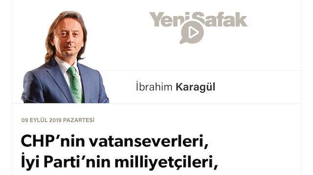 *CHP'nin vatanseverleri, İyi Parti'nin milliyetçileri, muhafazakârların yerlileri!  *2023 öncesi son büyük savunma bu.  *Mandacıların son büyük kalkışması..  *Kale kapılarını içeriden açtılar.  *Onlar Erdoğan'ı devirmeye, birileri Türkiye'yi devirmeye çalışıyor.  *Atatürk'ü bile PKK'ya silah yaptılar.  *Uyanın!