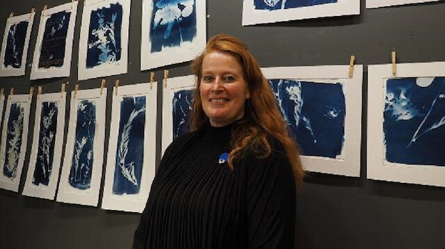 Hollandalı sanatçı Ayvalık'ta fotoğraf sergisi açtı