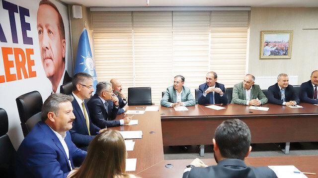 Ak Parti Melikgazi Danışma Meclisi toplantısında projeler Memduh Büyükkılıç tarafından masaya yatırıldı.