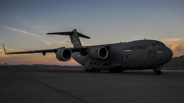 ABD'ye ait kargo uçağı (ARŞİV)