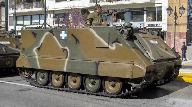 Yunan ordusu askeri mühimmatını kaybetti
