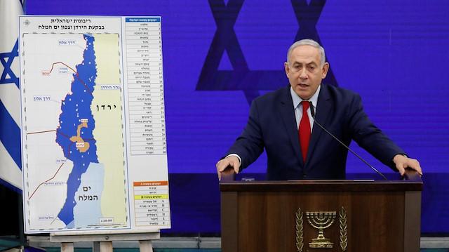Netanyahu ilhak vaadini yineledi