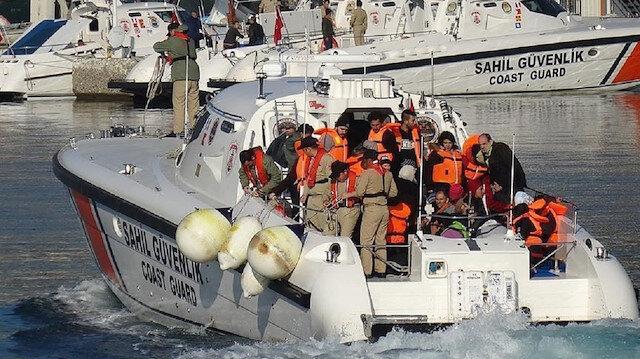قوات الأمن التركية تضبط 61 مهاجرا غير نظامي جنوبي البلاد