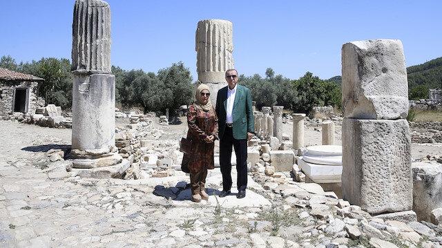 Erdoğan'ın ziyareti antik kente ilgiyi artırdı
