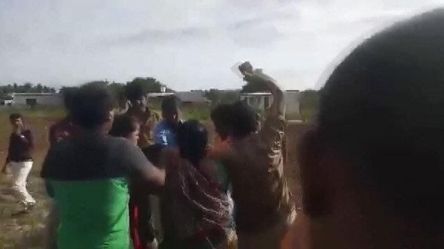 3üncü kez evlenmek isteyen adamı eşleri dövdü
