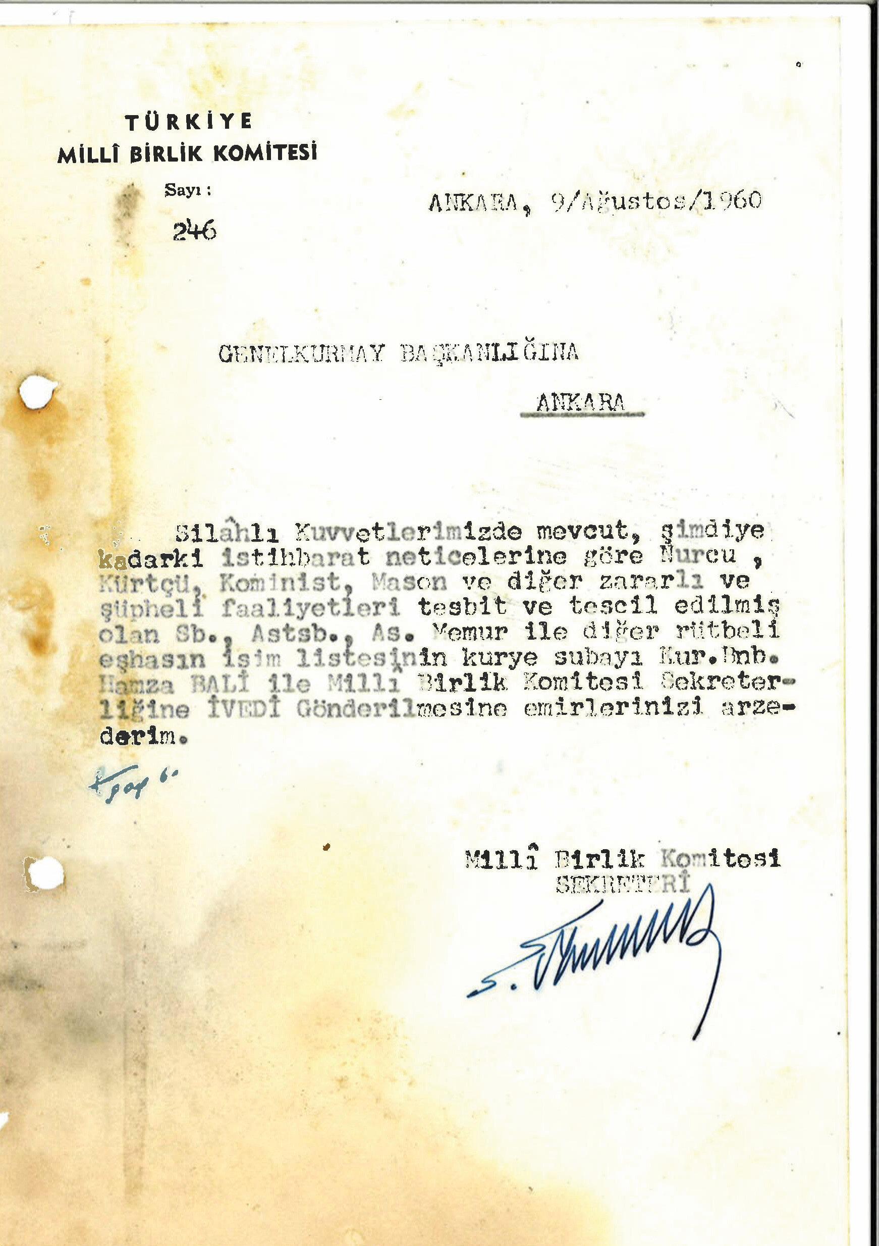 Devlete sızmanın belgeleri