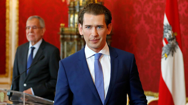 Former Austrian Chancellor and People's Party (ÖVP) Chairman Sebastian Kurz