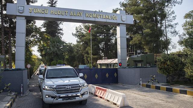 ABD askeri heyeti, Şanlıurfa'nın Akçakale ilçesindeki Birleşik Müşterek Harekat Merkezi'ne ziyarette bulundu.