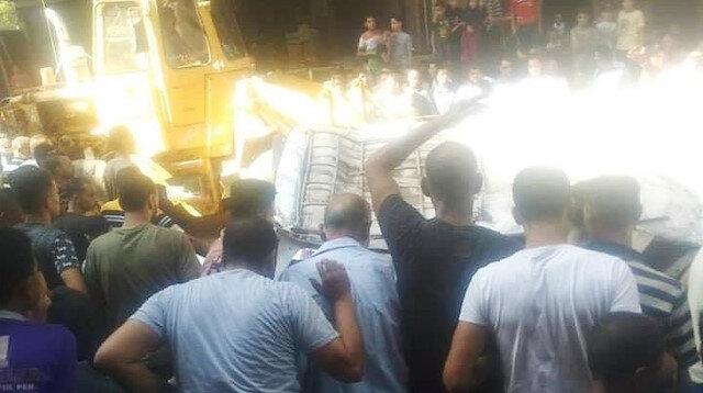 Mısır Sağlık Bakanlığı, olay yerine 7 ambulansın sevk edildiğini belirtti.