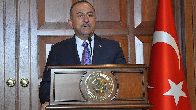 Turkish foreign minister Mevlğt Çavuşoğlu