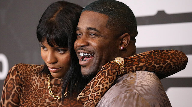 A$AP Ferg poses with Renell Medrano on the red carpet of Rihanna's new Savage X Fenty collection show for New York Fashion Week at the Barclays Center in the Brooklyn borough of New York, U.S., September 10, 2019. REUTERS/Shannon Stapleton