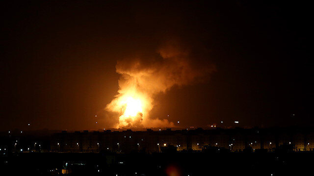 Israel strikes several locations in Gaza