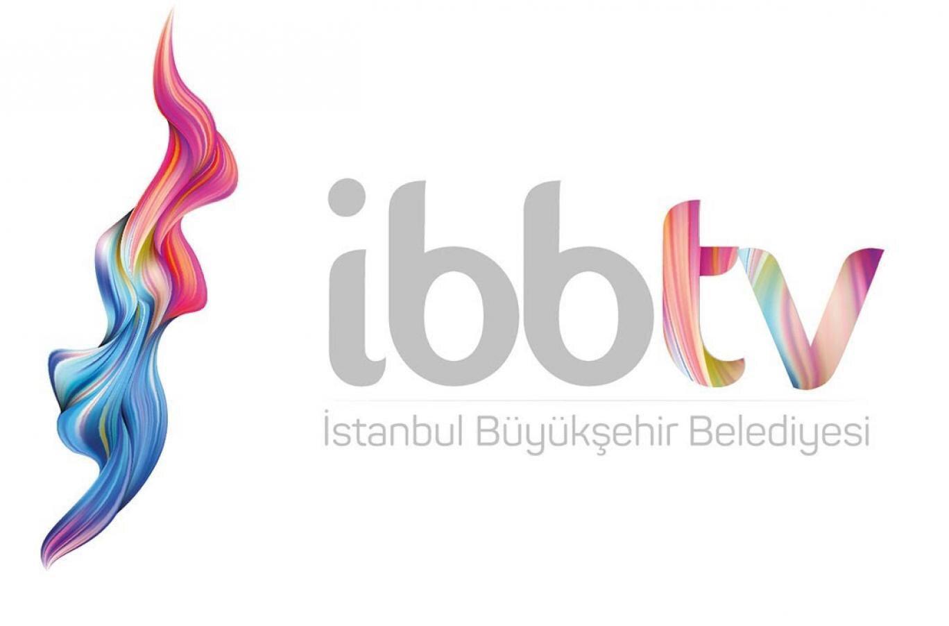 İBB TV'nin logosunun yerine yerleştirilen logo.
