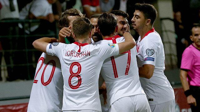 A Milli Takımımız Moldova deplasmanından 4-0'lık galibiyetle ayrıldı.
