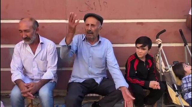 Oturma eylemindeki babadan HDPlilere: Utanmaz oğlu utanmazlar
