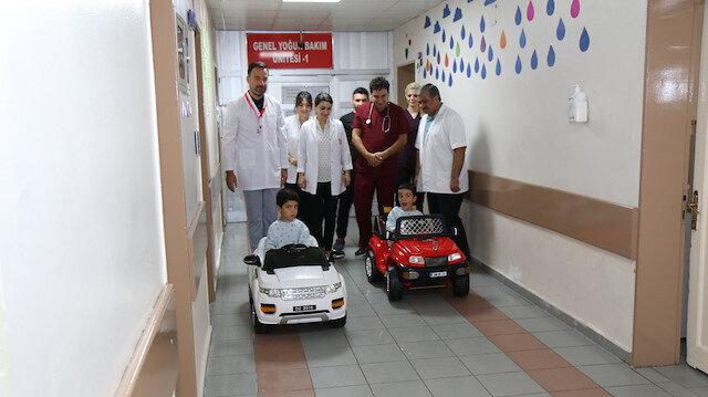 Hastane yönetimi, ameliyata girecek çocukların travma yaşamaması için örnek olacak bir uygulama başlattı.