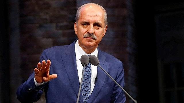 AK Parti Genel Başkanvekili Numan Kurtulmuş (arşiv)