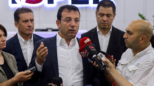 İBB Başkanı Ekrem İmamoğlu, Halk Ekmek ürünlerine yapılan zamla ilgili gazetecilerin sorusunu yanıtladı.