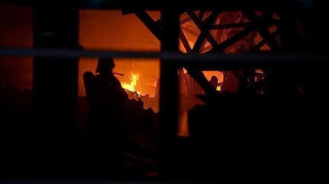 """الدفاع التركية تعلن السيطرة على الحريق في """"غرنة"""""""
