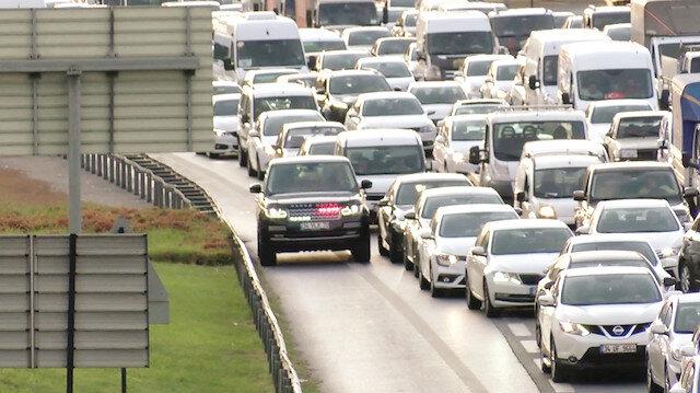 Trafikte 'çakar' tacizi bitmiyor