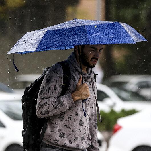 Meteorolojiden yağış uyarısı: Kuzey ve batı kesimlerinde etkili olacak